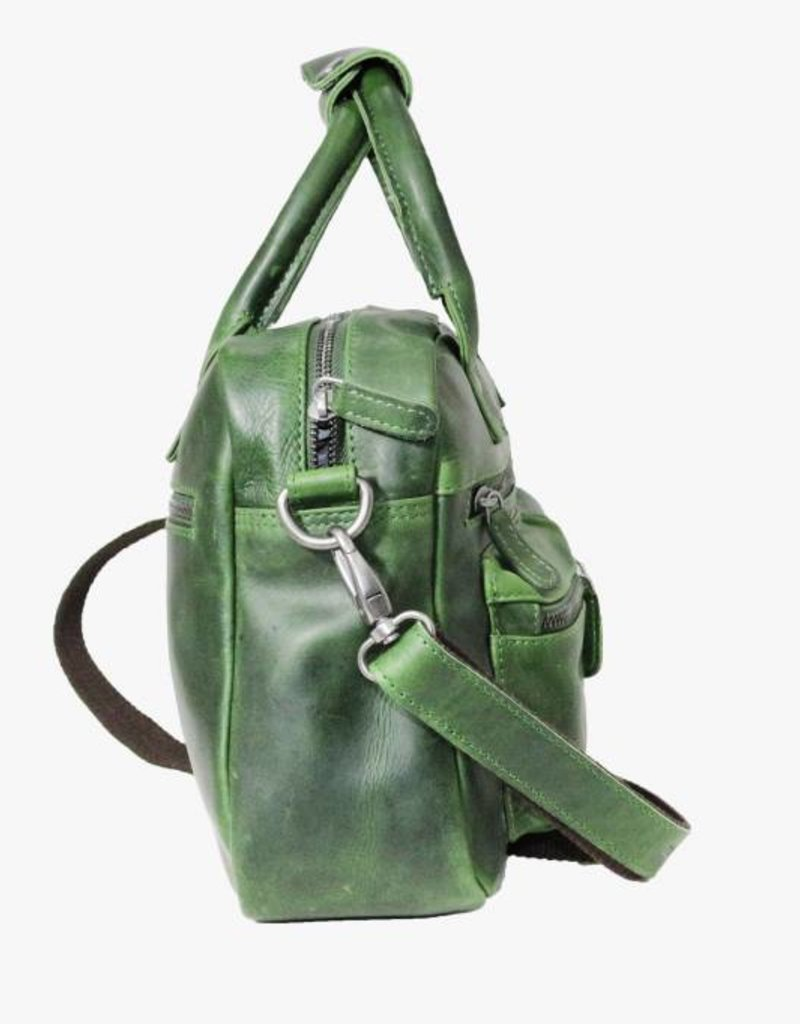 4f8c50199a6 ... Arrigo Arrigo cowboysbag green leather bag- nice leatherbag- luxe  beg-arrigo-66045 ...