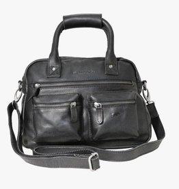 Arrigo Arrigo Western bag middelmaat  zwart