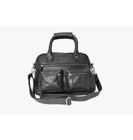 Arrigo Arrigo cowboysbag black leather bag- nice leatherbag- luxe beg-arrigo-66045