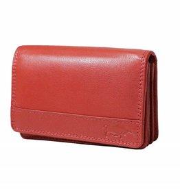 Arrigo Overslagportemonnee harmonica Ferrari rood