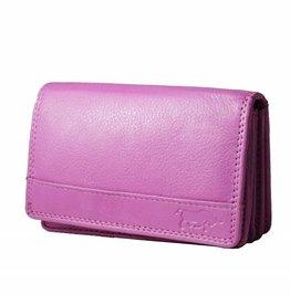 Arrigo Harmonica wallet rose