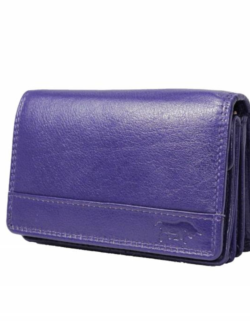 Dames Portemonnee Klein.Ladies Wallet Smale With Klep Aubergine 2b 337 Arrigo Leather Goods