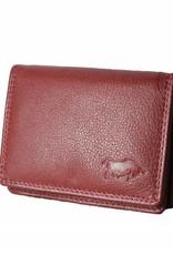 Arrigo Small leather wallet Bordeaux