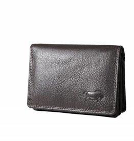 Arrigo Small leather wallet dark brown