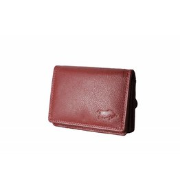 Arrigo Small leather wallet red