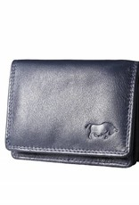 Arrigo Small leather wallet gray