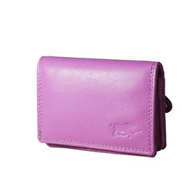 Arrigo Small leather wallet Rose