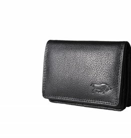 Arrigo Small leather wallet Black