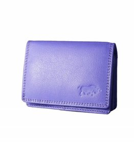 Arrigo Small leather wallet Violet