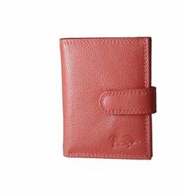 Arrigo Card holder Ferrari red leather