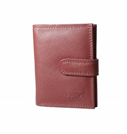 Arrigo leather cardholder red Arrigo