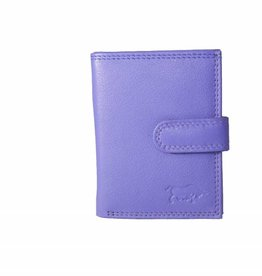 Arrigo Leather folder for cards violet (light purple)