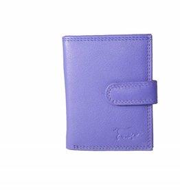 Arrigo Leather folder for cards violet (light purple)