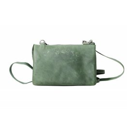 Arrigo Purse bag large, night bag, bag Green