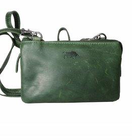Arrigo Small purse bag, night bag, small bag Green