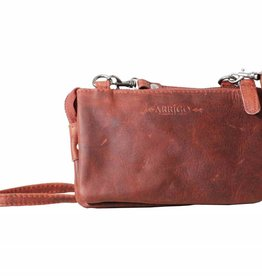 Arrigo Small wallet purse, night bag, small town bag Red