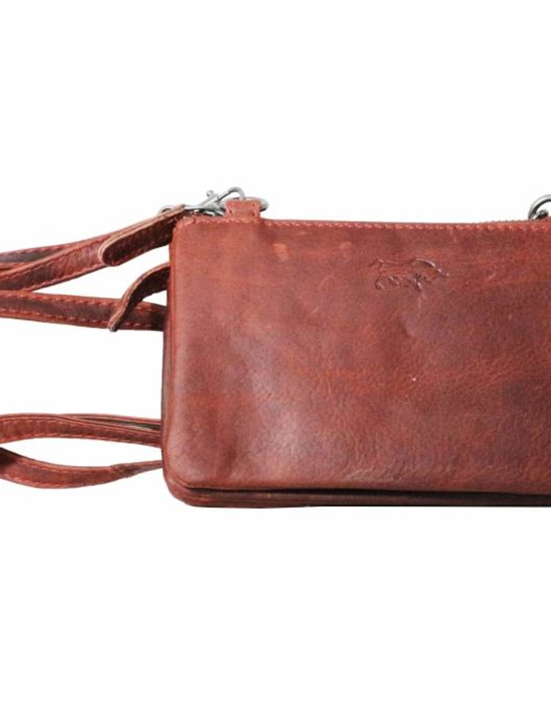 8ffa70aeabf Small wallet purse, night bag, small town bag Red - Arrigo leather goods