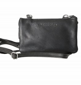 Arrigo Small wallet purse, night bag, small town bag Black