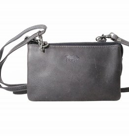 Arrigo Small wallet purse, night bag, small town bag Dark blue