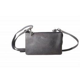 Arrigo Small wallet purse, night bag, small town bag Dark blue