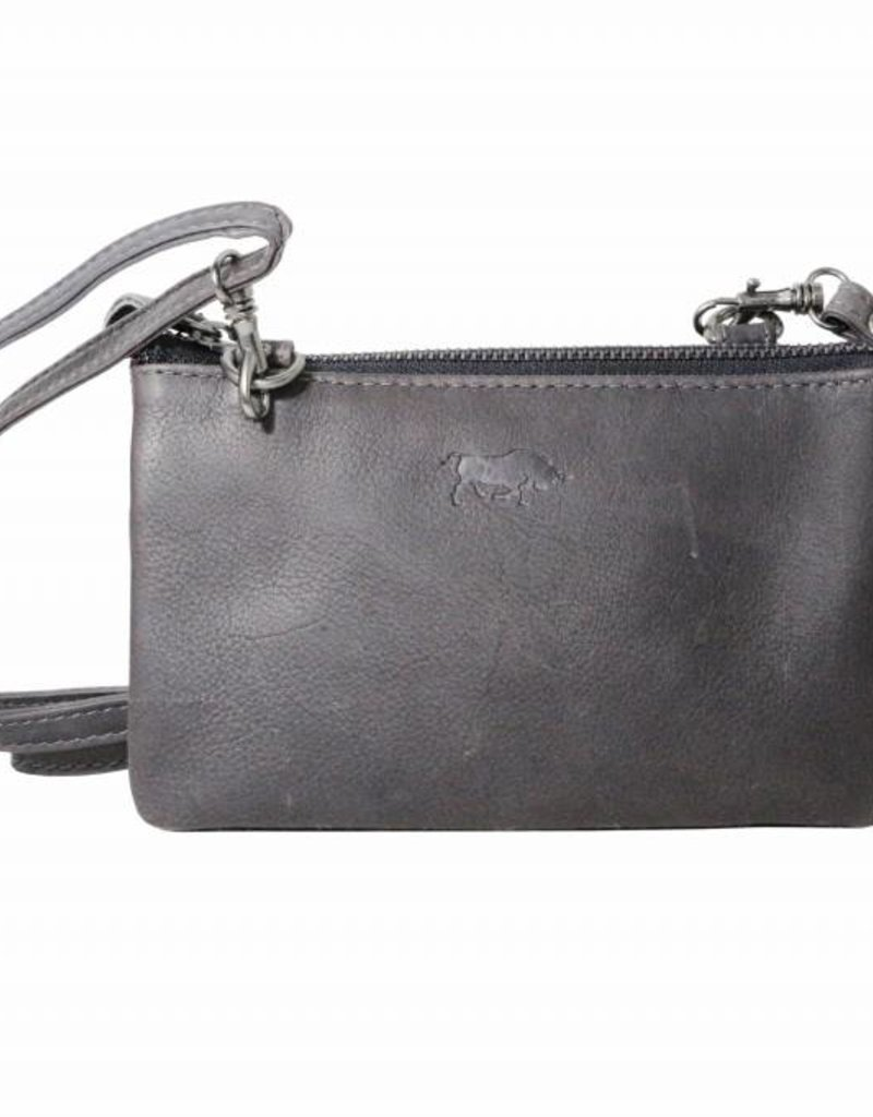 a545b73bbf8 Small wallet purse, night bag, small town bag Dark blue - Arrigo leather  goods