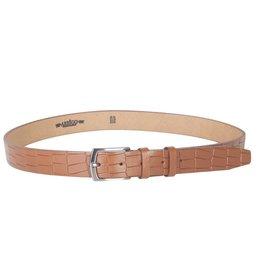 Arrigo Leather belt Cognac (natural / light brown)