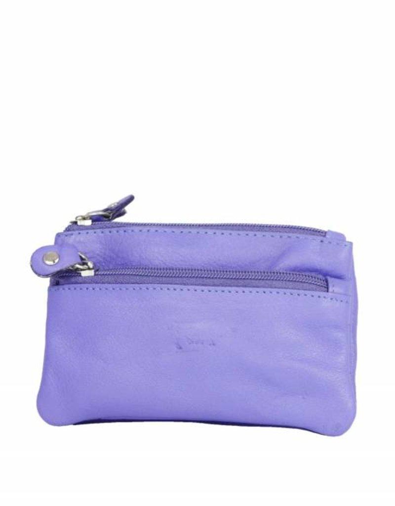Arrigo leather Key-case key ring cowhide-arrigo 031- Violet