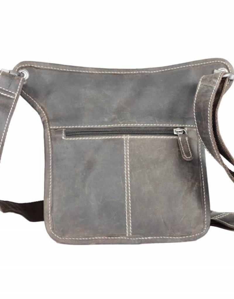 Arrigo Leather fanny pack-festivalbag-hip-bag-travelbag-bag