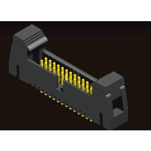 AMTEK Technology Co. Ltd. 5EH3SDXNN-XX   Ejector Header 1.27 X 1.27mm SMT/Right Angle/Straight Type