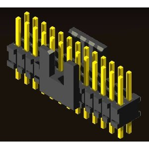 AMTEK Technology Co. Ltd. 5BP3SD/RDX25-XX   Box Header 1.27 X 1.27mm Straight / Right Angle Type