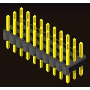 AMTEK Technology Co. Ltd. 5PH2SDX15/20-3XX             Pin Header 2.0mm 3 Row H=1.5/2.0 Straight Type