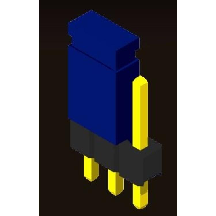 AMTEK Technology Co. Ltd. 5JP1XX-XX           Pin Header 2.54mm Straight Type + Mini Jumper