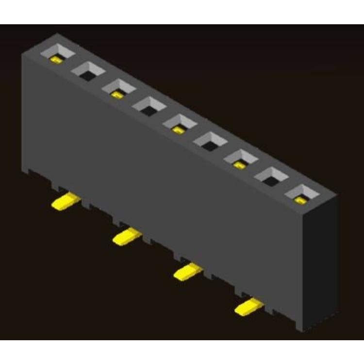 AMTEK Technology Co. Ltd. 5PS1TMX85-1XX         Pin Header 2.54mm H=8.5mm Triple Contact SMT Type