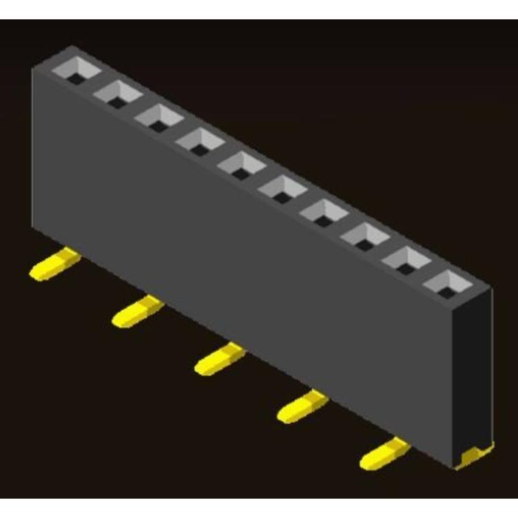 AMTEK Technology Co. Ltd. 5PS1MSX85-1XX         Pin Header 2.54mm H=8.5mm Y Contact SMT Type