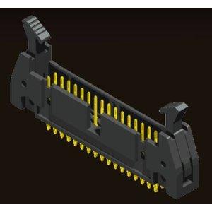AMTEK Technology Co. Ltd. 5EH1FSXNN-XX            Ejector Header 2.54mm Press Fit Type