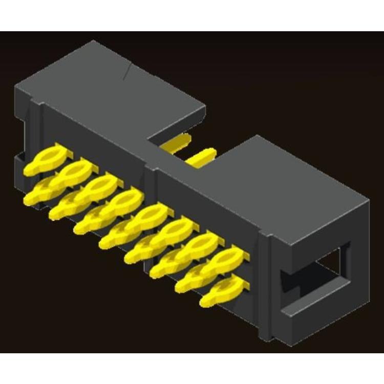 AMTEK Technology Co. Ltd. 5BH1FSXNN-XX              Box Header 2.54mm Press Fit Type