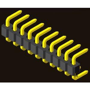 AMTEK Technology Co. Ltd. 5PH1CDX25-1XX                             Pin Header 2.54mm H=2.5mm C Type