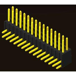 AMTEK Technology Co. Ltd. 5PH1RDX74-2XX            Pin Header 2.54mm H=7.4mm Right Angle Type