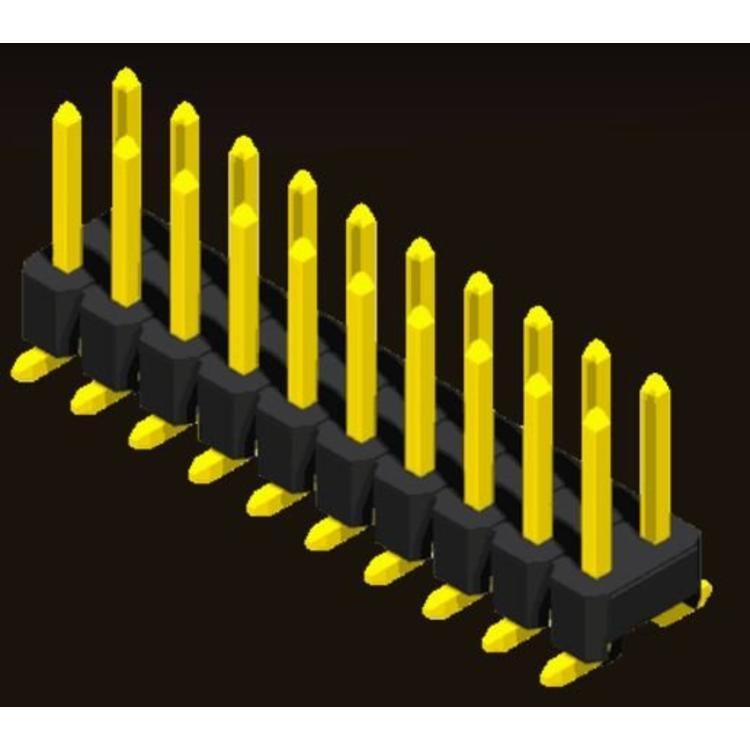 AMTEK Technology Co. Ltd. 5PH1MSX15/17/25-2XX                         Pin Header 2.54mm H=1.5/1.7/2.5mm SMT Type