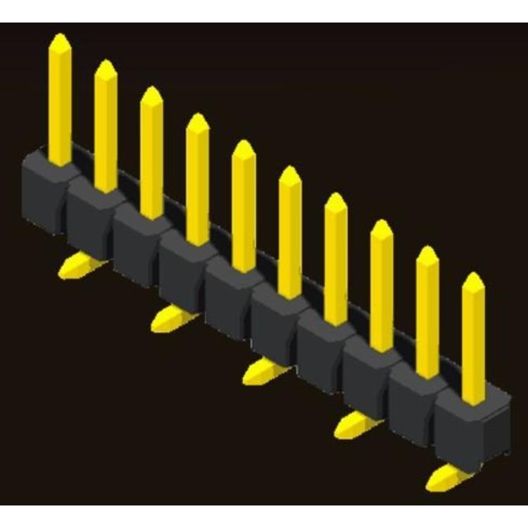 AMTEK Technology Co. Ltd. 5PH1MSX15/17/25-1XX                        Pin Header 2.54mm H=1.5/1.7/2.5mm SMT Type