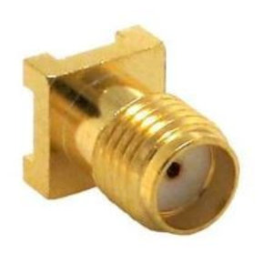 LINX Technologies Inc. SMA Female Surface-Mount Connector, Gold