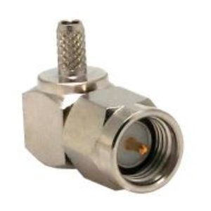 LINX Technologies Inc. SMA Male Right-Angle Connector with RG174 Cable End Crimp