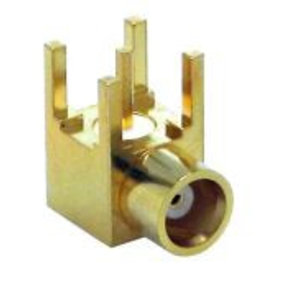 LINX Technologies Inc. MMCX Female Right-Angle Through-Hole Mount Connector