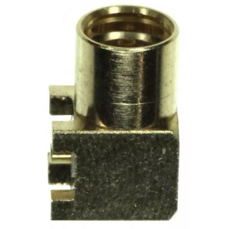 LINX Technologies Inc. MMCX Female Right-Angle Surface-Mount Connector