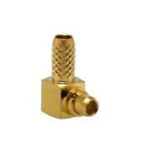 LINX Technologies Inc. MMCX Male Right-Angle Connector with RG174 Cable End Crimp