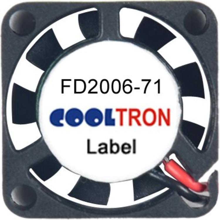 Cooltron Inc. FD2006-71 Series DC Axialventilator