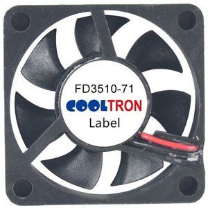 Cooltron Inc. FD3510-71 Series DC Axialventilator