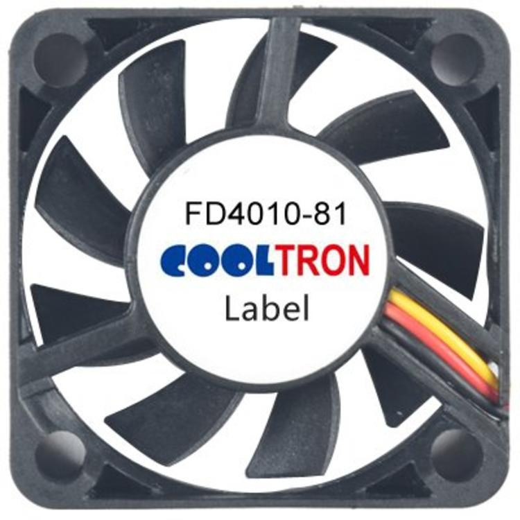 Cooltron Inc. FD4010-81 Series DC Axialventilator