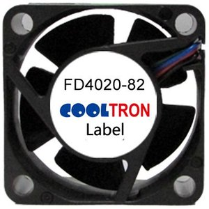 Cooltron Inc. FD4020-82 Series DC Axialventilator