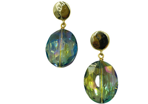 TREND COLLECTION Blue, Green Earring